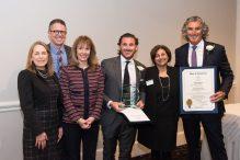 Employer of the Year Award Recipients Don Herzog and Jesse Herzog